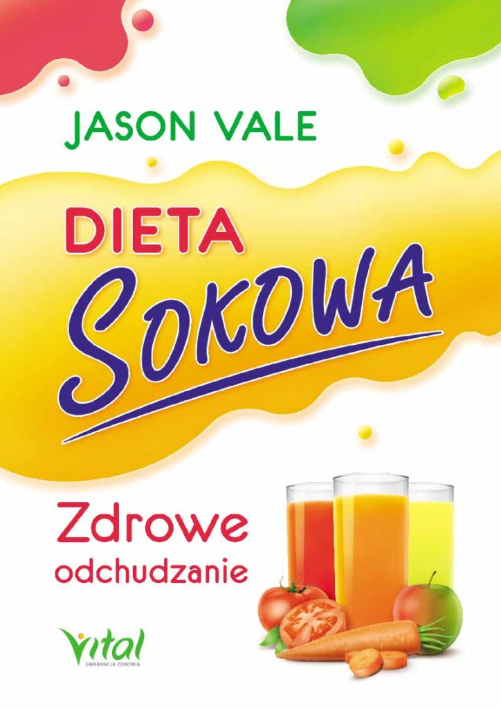Dieta sokowa. Zdrowe odchudzanie - Okładka książki