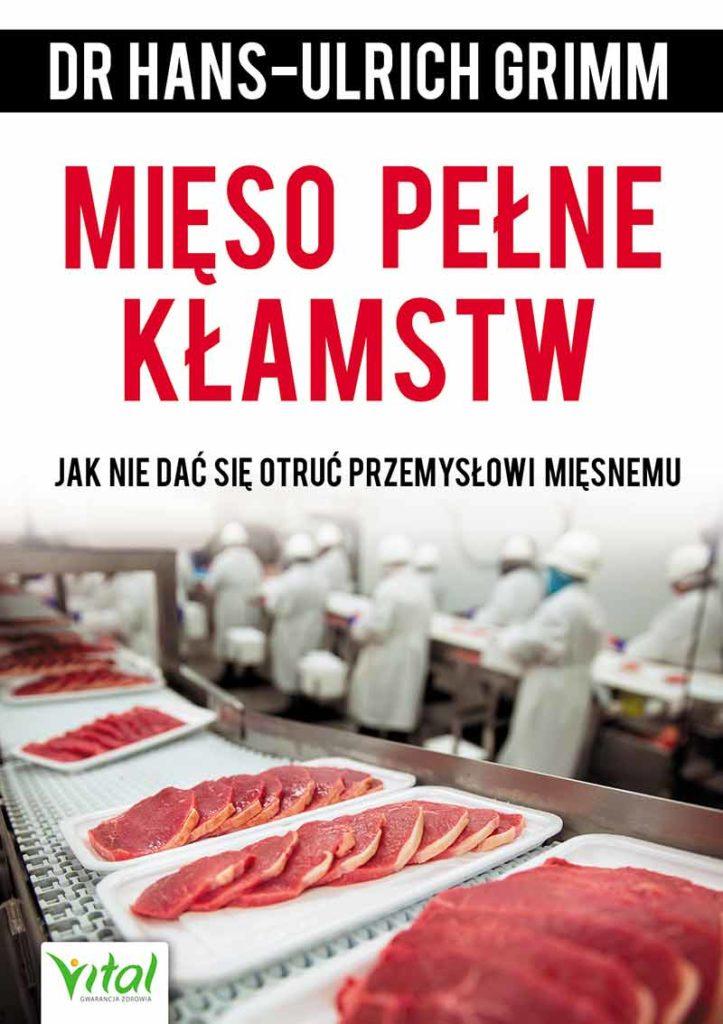 Mięso pełne kłamstw - Okładka książki