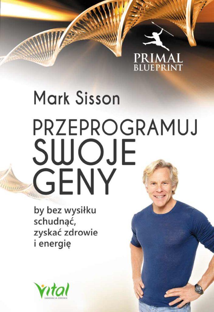 Przeprogramuj swoje geny, by bez wysiłku schudnąć, zyskać zdrowie i energię - Okładka książki