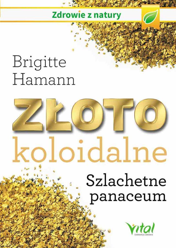Złoto koloidalne - Okładka książki