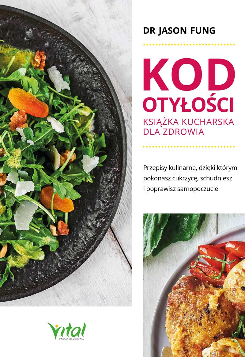 Kod otyłości – książka kucharska dla zdrowia