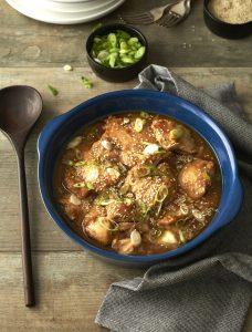 sezamowe miso z kurczakiem