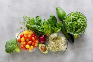 Warzywa bogate w błonnik